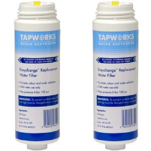 Tapworks Easychange Water Filter Tap System Replacement Cartridge 6 Month – Twin Pack